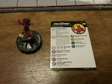 HEROCLIX SUPER RARE: JUSTICE LEAGUE ANIMATED 061 STAR SAPPHIRE......MINT NEW
