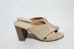 Size 11 Womens X Top Open Toe Block Half Shoe