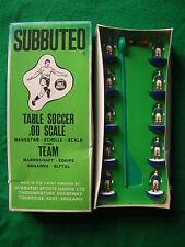 Nuevo En Caja Sellada Subbuteo C100 Hp Zombie equipo 318, Escocia, del viejo Toy Shop