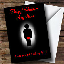 Sexy And Funny Personalised Valentines Greetings Card