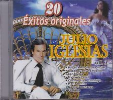 Julio Iglesias Vol 3 CD 20 Exitos Originales CD New Sealed Nuevo