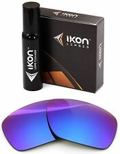 Polarized IKON Iridium Replacement Lenses For Oakley Dispatch 1 Purple Mirror