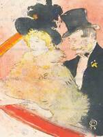 TOULOUSE LAUTREC TRAVELLER OLD MASTER ART PAINTING PRINT 1335OM