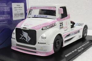 FLY 205104 BUGGYRA MK08 GO PINK CANCER ELLEN LOHR, #25 NEW 1/32 SLOT CAR