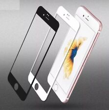 100% New 3D Full Cover Curved Tempered Glass White Screen Protector  iPhone 6-6s