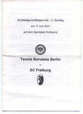 AR zur Frauen-BL 2000/2001 Tennis Borussia Berlin - SC Freiburg, 17.06.2001