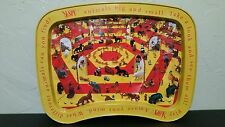 "I SPY Kidz Animals Big and Small Tin TV Tray with Legs 12x17"", Rare! ! LOOK! ! !"