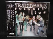 STRATOVARIUS Polaris Live JAPAN CD Cain's Offering Mastermind Random Eyes Kotipe