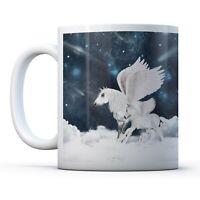 Awesome Pegasus - Drinks Mug Cup Kitchen Birthday Office Fun Gift #16688