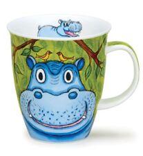 Dunoon taza taza de té GO WILD Hipopótamo Hipopótamo 0,4lL Taza de café Nevis