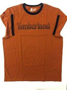 Timberland Men's T-shirt, Sz-XL, Colour- Orange
