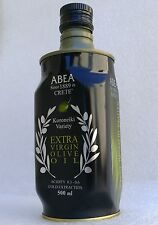 Extra Virgin Olive Oil 500ml luxury container 1889 Cold Pressed GREECE Crete isl