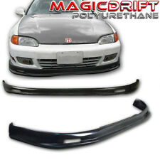 92 93 95 Honda Civic 2-Door MU Front & Rear Bumper Lips Body Kit