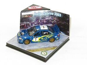 1/43 Subaru Impreza S9 WRC`03  Winners Rally Cyprus 2003 #7 P.Solberg / P.Mills
