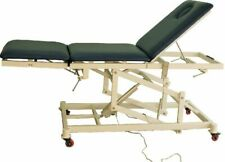 New HI-LO EXAM TREATMENT TABLE MOTORIZED TREATMENT Chiropractic Contoured face