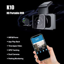 Android Sat Nav Navigation GPS System Satellite Car DVR Dual WiFi Camera 1080 HD