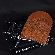 ORTEGA Horsekick Horse Kick Pro Digital Percussion Stomp Box 5 Sampled Sounds
