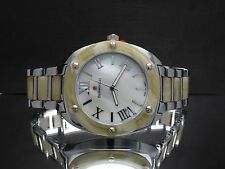 Bernoulli 9360 Libra Women's Mother of Pearl Dial Two Tone Watch