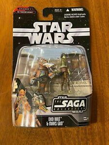 Hasbro Star Wars Saga Collection 051 Dud Bolt & Mars Guo (Palpatine) 2006