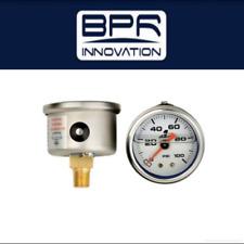 Aeromotive EFI Fuel Pressure Regulator FPR Gauge 0-100 PSI - 15633