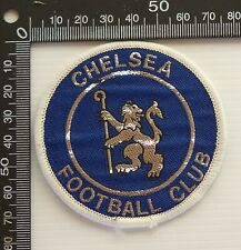 VINTAGE CHELSEA FC FOOTBALL CLUB EMBROIDERED PATCH WOVEN CLOTH SEW-ON BADGE