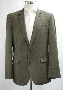 Men's Next Tailored Fit Brown Striped Blazer (42R).. Sample 6288