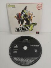 Tekken 3 Demo Jouable Sony PlayStation One 1 Ps1 PS 1 Pal Namco