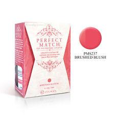LeChat Perfect Match Nail Gel & Lacquer Pms237 Brushed Blush 0.5oz