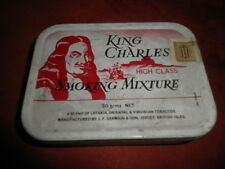 Scatola di latta - KING CHARLES SMOKING MIXTURE - Tabacco - Vintage