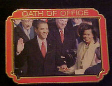 BARACK OBAMA  OATH OF OFFICE WILLABEE & WARD COMMEMORATIVE SERIES PIN