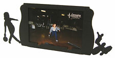 "Womens Bowling Black Metal Picture Frame 3.5""x5"" - 3""x5"" H - Girl"