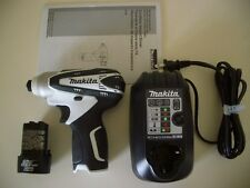 Makita 12V Cordless Impact Driver Drill w/ Charger Lithium ion Battery