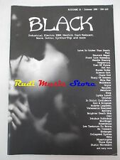 BLACK MAGAZINE 16/1999 Front Line Assembly Deutsch Nepal Chaos God Battery No cd
