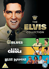 G.I. Blues/King Creole/Blue Hawaii 3-Disc Dvd New & Factory Sealed