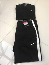 Genuine BNWT Men's Nike Tracksuit Large Black White Tick RRP £70 Bargain