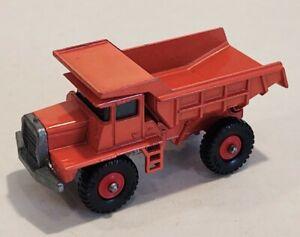 28-C EXC/NM! Beautiful Mack Dump Truck Lesney Matchbox circa '68