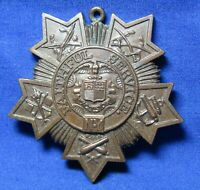 WWI - WWII New York Faithful Service Numbered Medal