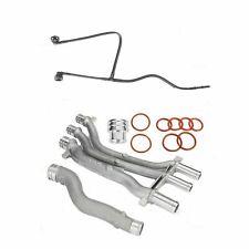 4PCS Coolant Pipe Repair Upgrade Kit for 03-06 Porsche Cayenne Turbo S 4.5L V8