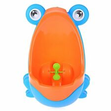 HAPPY KIDS Baby and Toddler Urinal Standing Frog Pee Trainer