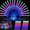 10pc Light Up Foam Sticks LED Wands Rally Rave Batons DJ Flashing Glow Stick  al