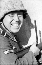 "German Army Sergeant With Tank Destruction Badge World War 2 Reprint Photo 6x4"""