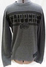 UNK NBA-Los Angeles Clippers-Men's Thermal T-Shirt Charcoal Gray-Size Medium
