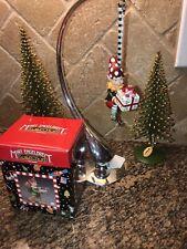 Vintage Mary Engelbreit Christmas Ornament Gnome & Gift Resin Kurt S. Adler