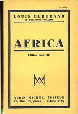 LOUIS BERTRAND AFRICA AFRIQUE DU NORD CONSTANTINE CARTHAGE CHERCHELL 1933
