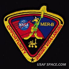 MER-B OPPORTUNITY MARS Exploration ROVER DAFFY DUCK DODGERS NASA JPL SPACE PATCH
