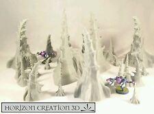 HC3D -Bio Terrain Set 16 Pieces- Alien Wargames Miniatures Scenery 40k 28mm 15mm