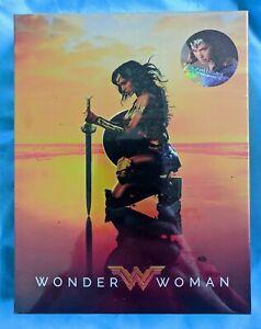 Wonder Woman Blufans Full Slip 4K Blu-ray Steelbook NEW & SEALED