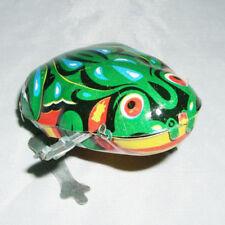 Springen Frosch Spielzeug 75 * 1 Handgefertigt Kollektion für Erwachsene Blech