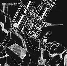 Gundam anime Music Soundtrack Japanese Cd Gundam Uc 4
