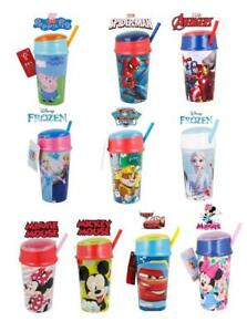 New Design Kids Character 400ml Snack Container & Combined Water Bottle/Tumbler